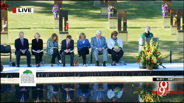 Families, Rescue Workers Gather For 19th Annual Remembrance Ceremony