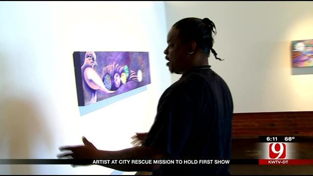Artist At City Rescue Mission To Hold First Show