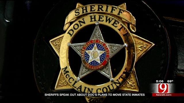 OK Sheriffs Speak Out About DOC's Plans To Move State Inmates