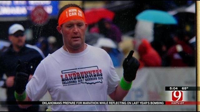 Oklahomans Prepare For Boston Marathon One Year After Bombing