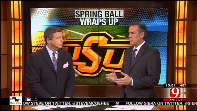 Cowboys Wrap Up Spring Football