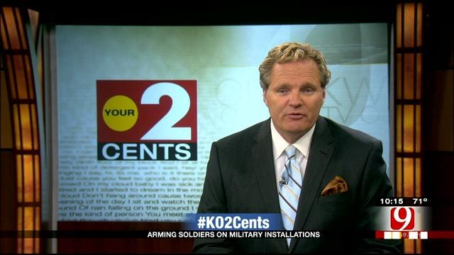 Your 2 Cents: Second Shooting At Fort Hood