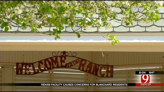 New Rehab Facility Scares Blanchard Residents