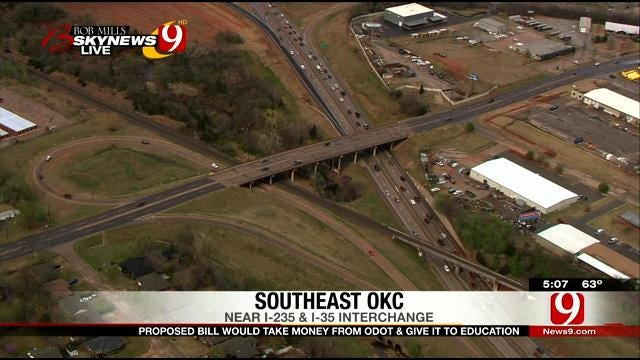 Proposed Bill Would Take Money From ODOT, Give To Education