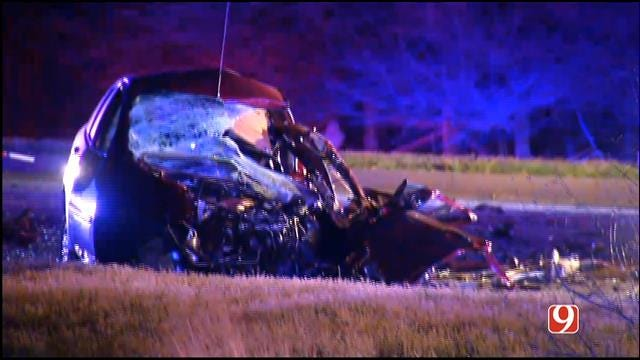 WEB EXTRA: Woman Killed In Two-Vehicle Collision In SW OKC