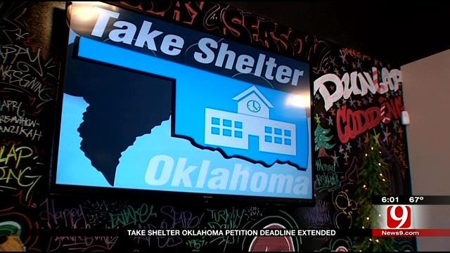 'Take Shelter Oklahoma' Upset With Ballot Initiative Language