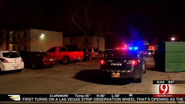 Police Look For Suspects In OKC Apartment Shooting