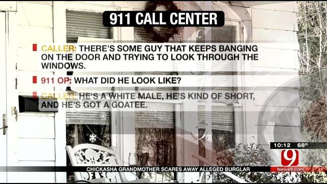 Grandmother Scares Intruder In Chickasha Break-In