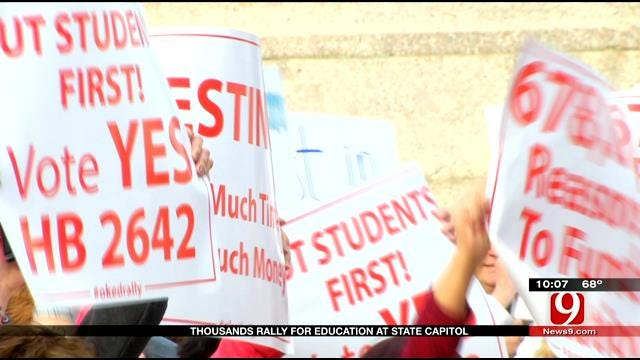 OCPA Responds To Education Rally At Capitol