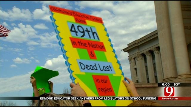 Edmond Public Schools Says Budget Is In Crisis