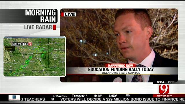 Rally Planned For More Education Funding At State Capitol
