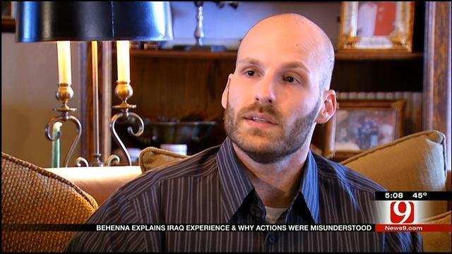 Behenna Explains Iraq Experience, Why Actions Were Misunderstood
