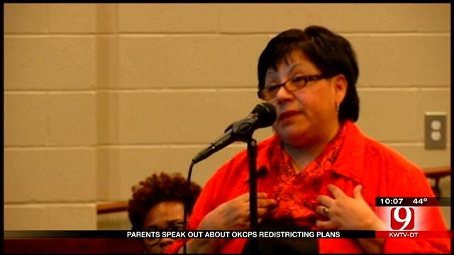 Parents Speak Out About OKCPS Redistricting Plans