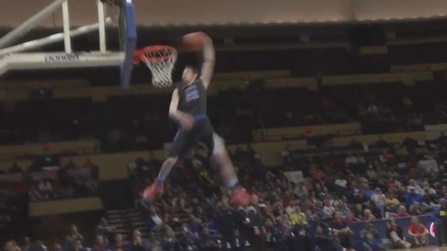 MUST SEE: Local Basketball Player Puts On Show In NAIA Dunk Contest