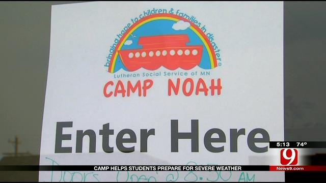 Camp Noah Visits Moore, Prepares Children For Tornado Season