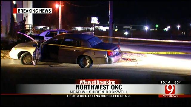 Suspect On The Loose After High-Speed Chase In NW OKC, Part II