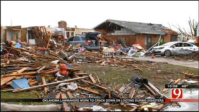 Oklahoma Lawmakers Work To Make Looting A Felony Offense