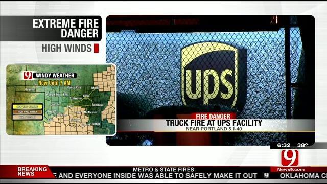 Crews Battle Multiple Fires Across OKC Metro