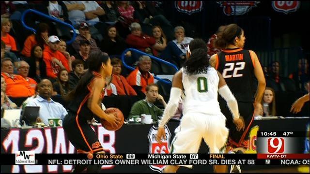 Baylor Eliminates Oklahoma State From Big 12 Tournament