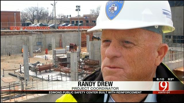New Edmond Public Safety Center Prepared For Severe Weather, Earthquakes