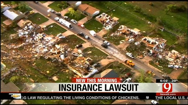 Judge Rules Against Insurer Over Woodward Tornado Claims