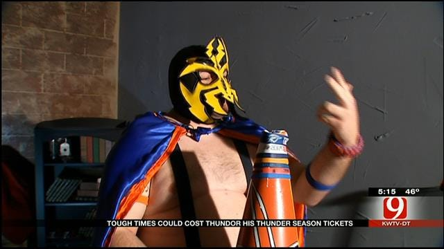 Thunder's Most Outrageously Dressed Fans Raise Money For Tickets