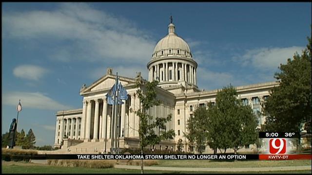 Take Shelter Oklahoma Storm Shelter No Longer An Option