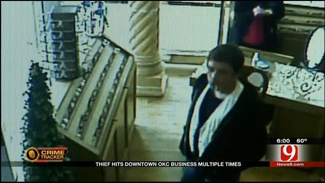 Brazen Thief Hits Downtown OKC Business Multiple Times