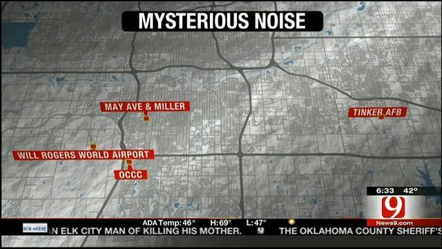 Loud, Mysterious Noise Awakens SW OKC Residents