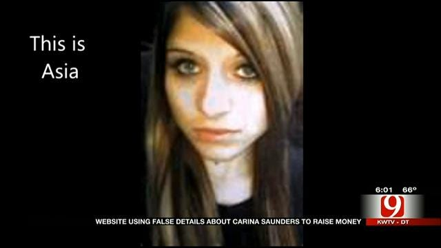 Florida Non-Profit Using False Details About Carina Saunders To Raise Money