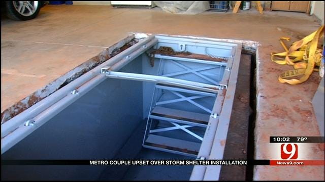 OKC Homeowners Warn Of Storm Shelter Scam