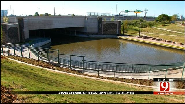 OKC, Union Pacific Dispute Halts Bricktown Connection To River