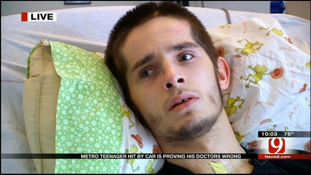 OKC Teen Making Remarkable Recovery After Being Hit By SUV