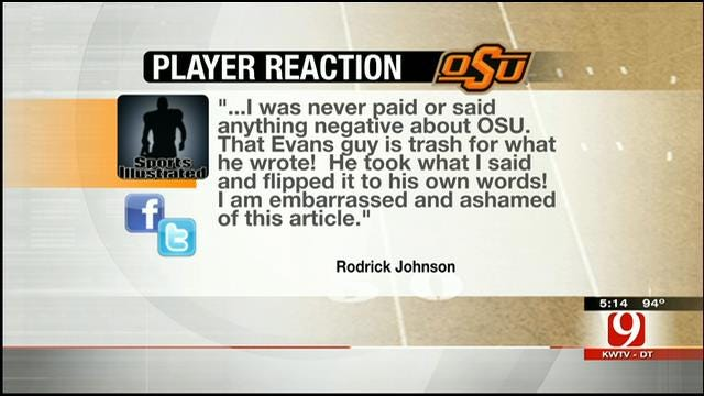 OSU Players, Alum Discuss SI Article Over Social Media Outlets