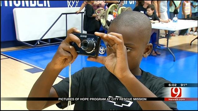 Program Gives Hope to Children In Need Through Photography