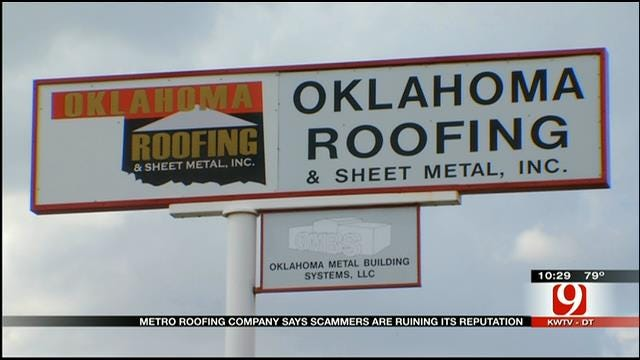 Scammers Claim To Be OKC Roofing Company, Threaten Homeowners
