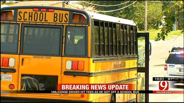 PC West Student Hospitalized After Truck Hits Him At School Bus Stop