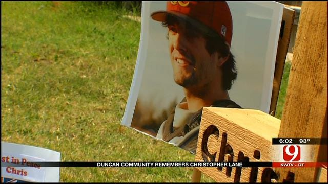 Duncan Community Remembers Christopher Lane