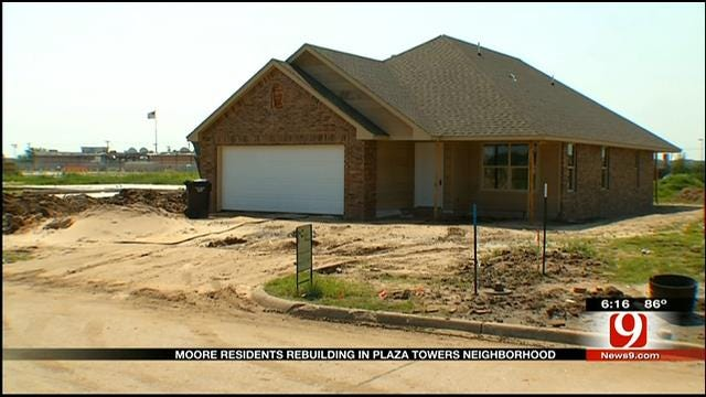 New Homes Going Up In Moore 3 Months After Tornado
