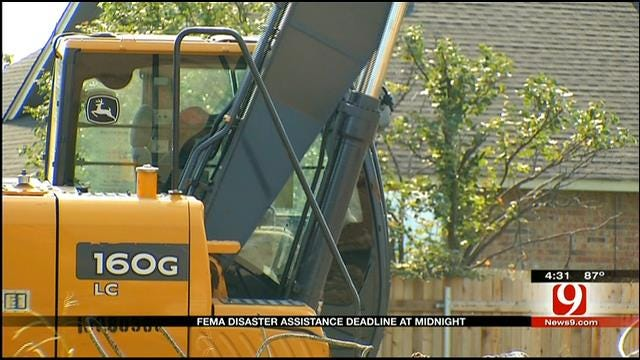 Deadline For FEMA Assistance Is Monday At Midnight