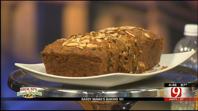 Almond Joy Zucchini Bread