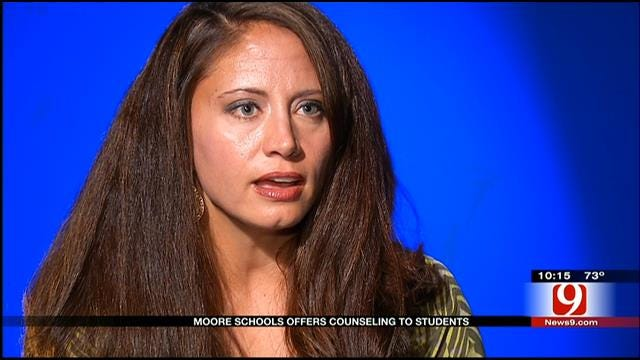 Counselors On Hand For Moore Students Dealing With Mental Trauma