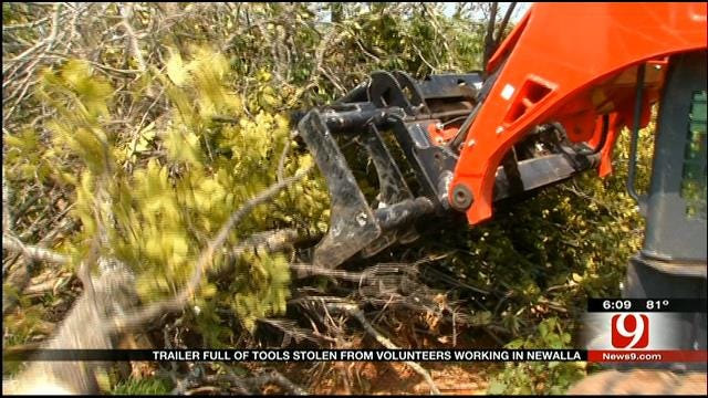 Thieves Steal Equipment From Texas Group Helping Tornado Cleanup