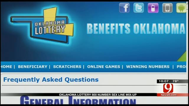 OK Lottery Blunder Directs Customers To Phone Sex Talk Line