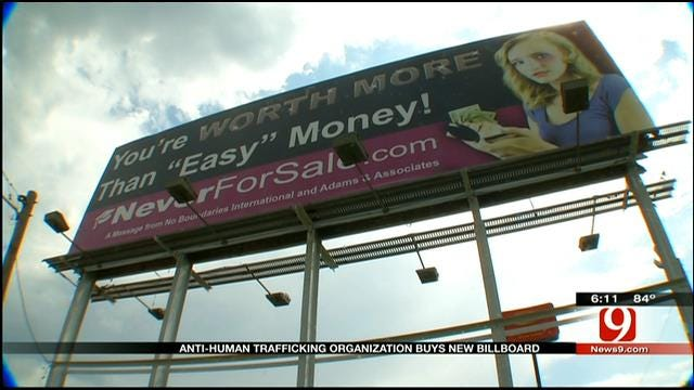 OKC Anti-Human Trafficking Group Puts Up New Billboard