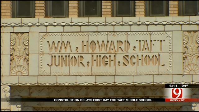 Start Of School Delayed For OKC Middle School Due To Construction