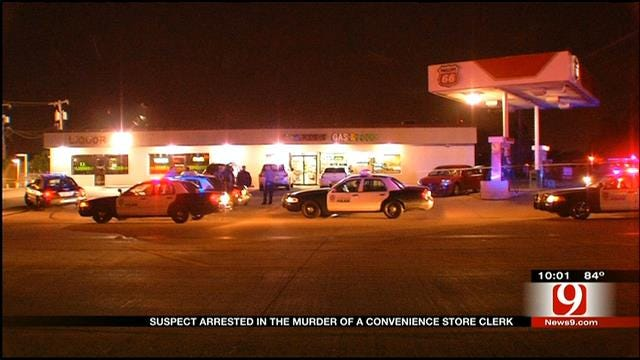 Suspect Arrested In Murder Of Convenience Store Clerk In NW OKC