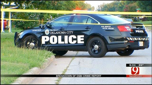 OSBI Releases Preliminary Crime Stats For 2012