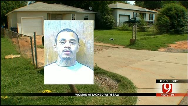 Neighbor Speaks After OKC Man Arrested For Attacking Woman With Handsaw