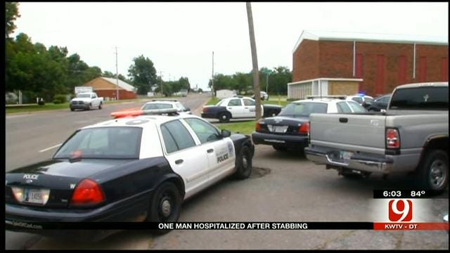 Man Stabbed At SW OKC Apartments